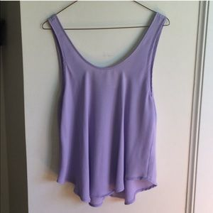 LUSH lilac tank top perfect condition